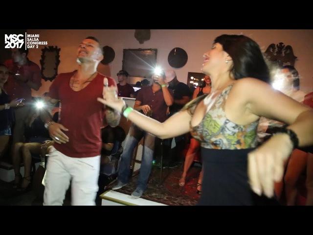 Miami Salsa Congress FERNANDO SOSA VANESSA Cafeina Lounge MSC2017