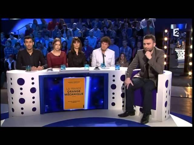 Laurent Obertone la délinquance en France - On nest pas couché 2 mars 2013 ONPC