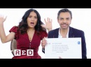 Salma Hayek Eugenio Derbez Answer the Web's Most Searched Questions | WIRED