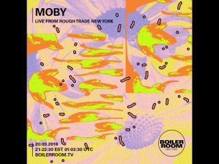 Moby live from rough trade new york