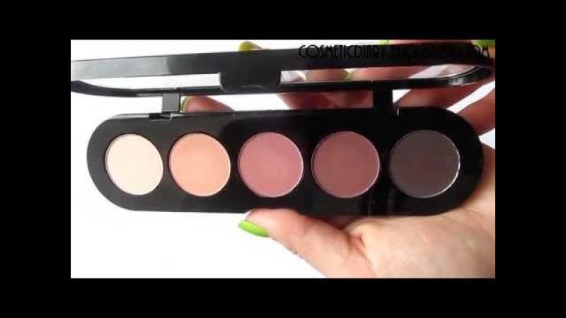 Палетка теней Ателье Т19 Make up Atelier Paris eyeshadow palette t19