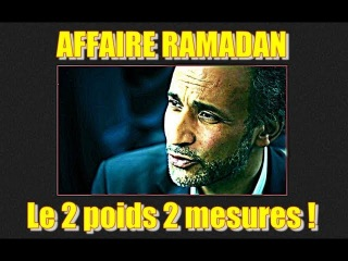 ADBK : Affaire Ramadan 1 - Le 2 poids 2 mesures !