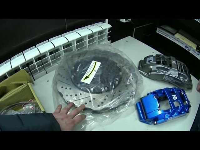 Установка тормозов HPB на BMW X5