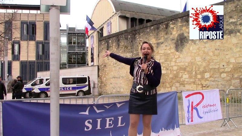 Christine Tasin à Bordeaux