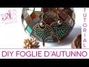 DIY Tutorial Foglia d'autunno con Twin beads per il 3° concorso artedeco