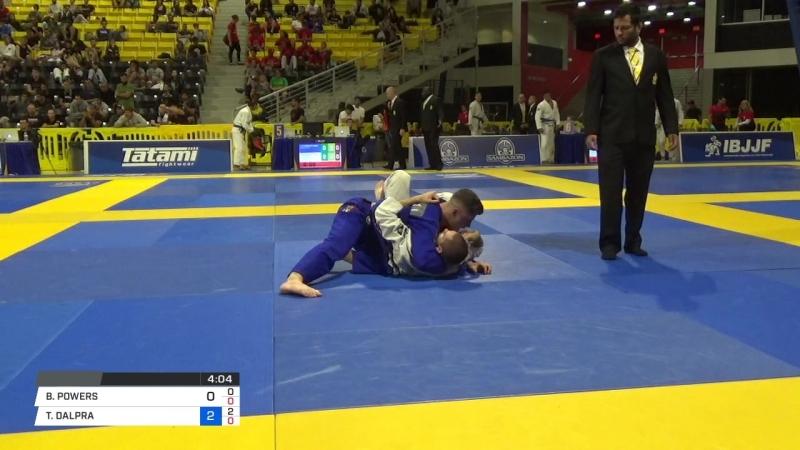 BEN POWERS vs TAINAN DALPRA COSTA 2018 World IBJJF Jiu Jitsu Championship