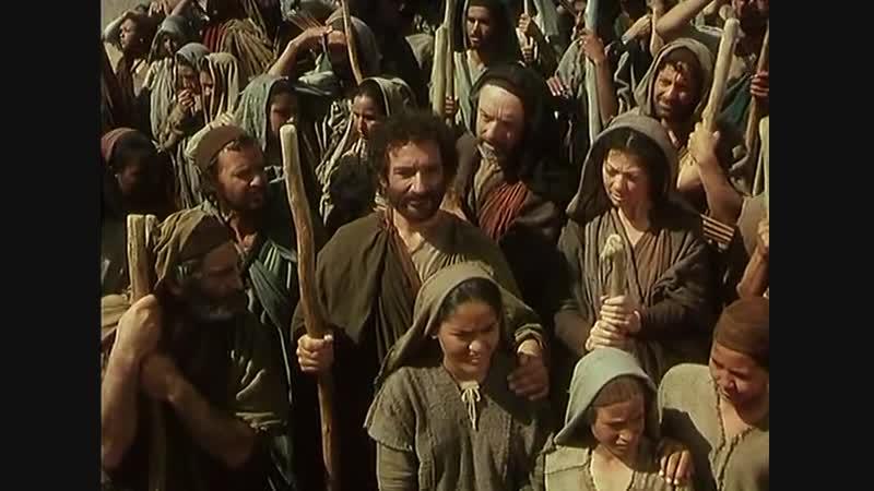 Библейские сказания фильм Моисей 2часть