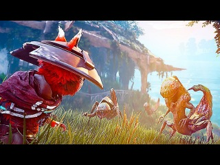 BIOMUTANT - NEW Gameplay Trailer & Character Creation (2018) PS4/Xbox One/PC