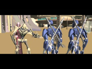 Star Wars The Clone Wars Story Reel 3 crystal crisis (with subtitles)