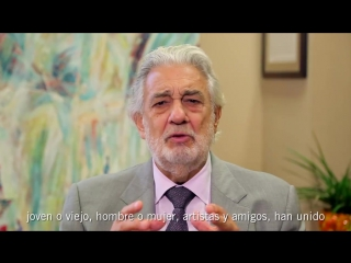 Placido domingo my dear friends, please join me in supporting relief efforts in #mexicocity and #puertorico.