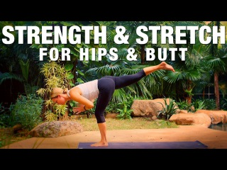 Five Parks Yoga. Strength Stretch for Hips Butt Yoga Class - Five Parks Yoga