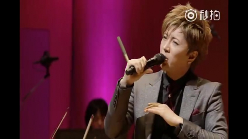 GACKT Weibo 21 11 2017 GACKT×Tokyo Philharmonic Symphony Orchestra Karei naru kurashikku no tabe 2014 08 Todokanai ai to sh