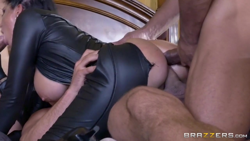 Romi Rain Allie Haze Deadly rain part 4(20170 with Mick Blue, Toni Ribas, Stallion for brazzers, anal, dp,