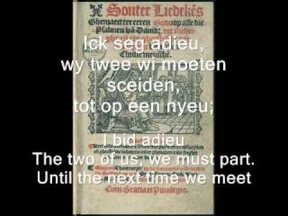 Gherardus Mes - Ick seg adieu (Souterliedeken 65) (by Camerata Trajectina)