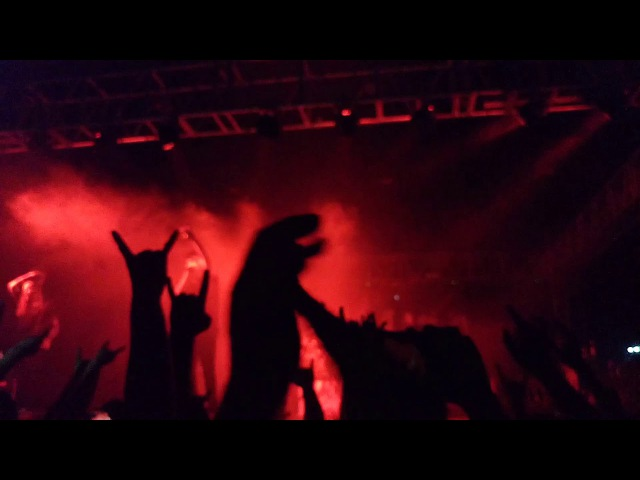 In Flames The End @ BMLS Showcenter GDL 10 13 2017