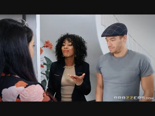 Misty stone (make this house a ho)[2019, athletic, bald pussy, blouse, bubble butt, business woman, ebony, natural tits, 1080p]