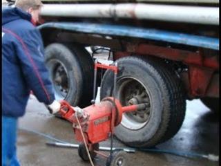 Взрывы колес на грузовом шиномонтаже. Необычный ремонт шин.