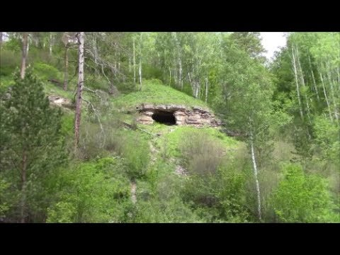 Самарская лука. Грот в Ширяевском овраге (Медвежий грот)