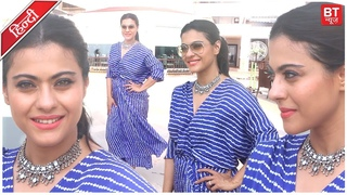 Kajol Spotted At Sun & Sand For Promotion Of  Movie Helicopter Eela