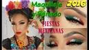 Maquillaje Peinado MEXICANO fiesta Patria Mexican Makeup hairstyle | auroramakeup