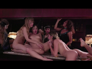 Jenna sativa, eliza jane, ivy wolfe - a flapper girl story [threesome, natural tits, fingering, pussy licking, lesbian, 1080p]