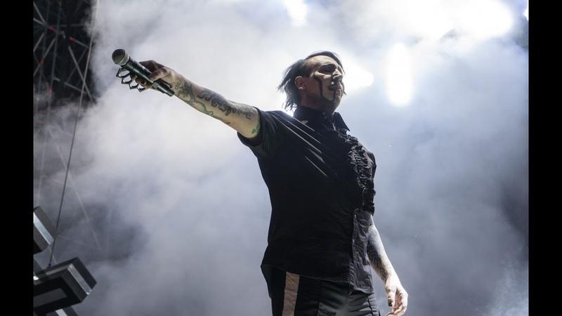Marilyn Manson The Beautiful People Live at Ippodromo San Siro Milan Italy 19 06 2018