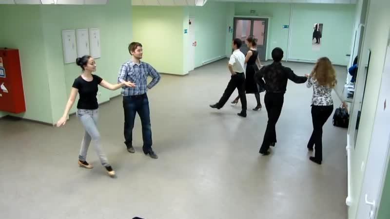 Богемская национальная полька (Bohemian National Polka). Схема танца