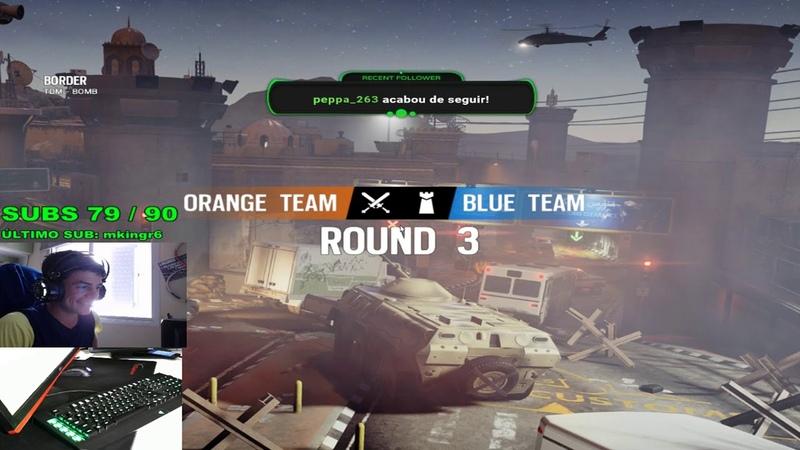 Jogando de Entry Fragger com dronagem do PSK Ranked no Full Foco