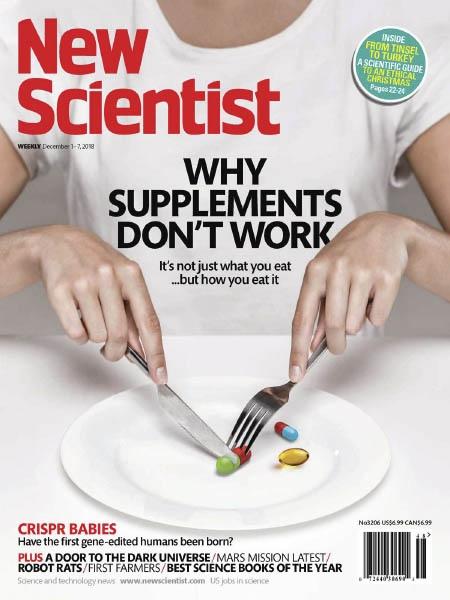 Book cover New Scientist 12.1.2018