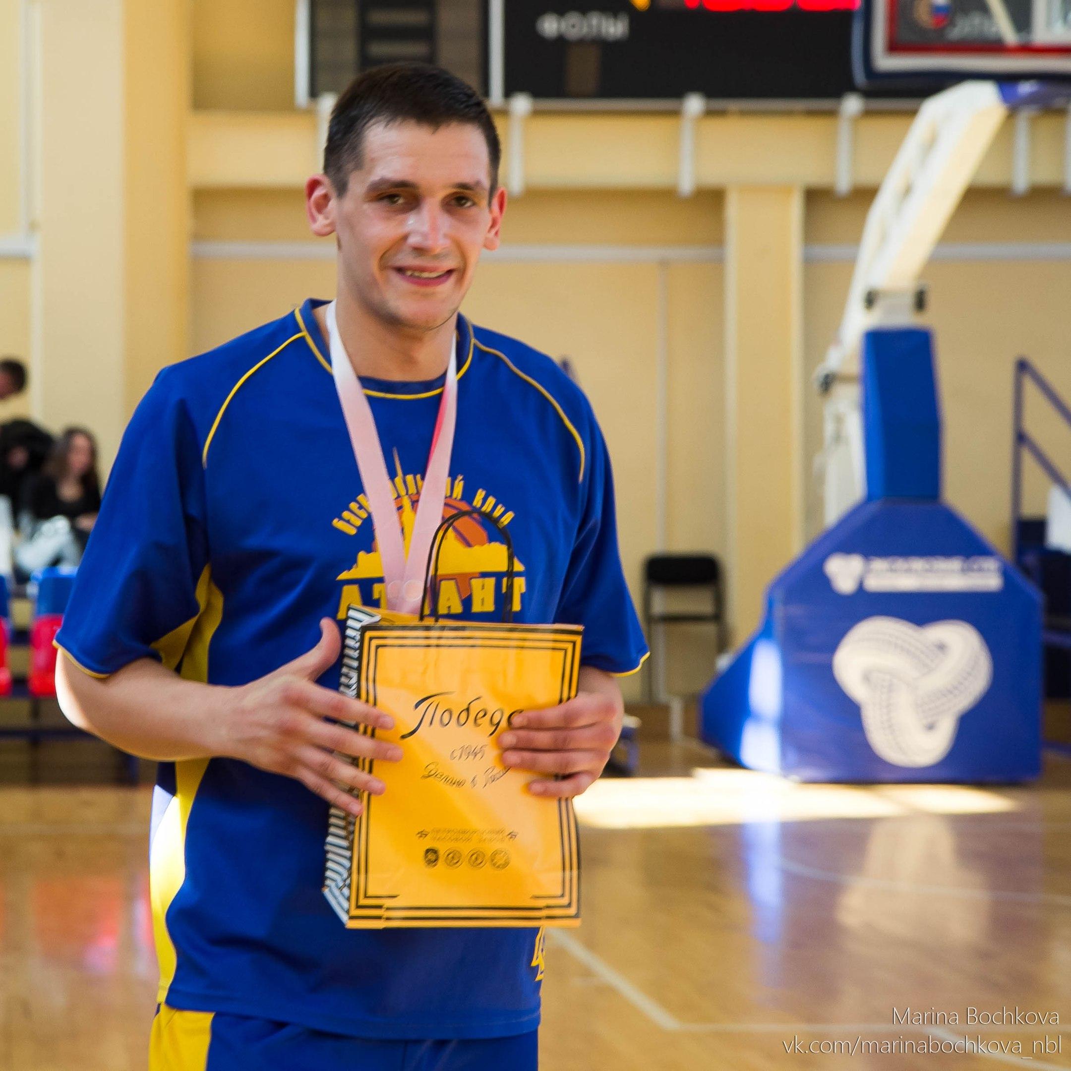 Павел Кириллов – лучший игрок Четвёртого Дивизиона НБЛ сезона 2017-2018