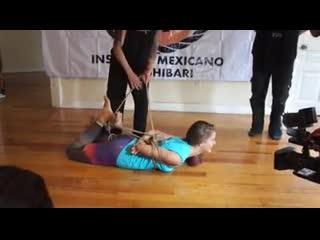 Talleres de bondage japonés en el instituto mexicano del shibari