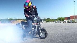 "StuntFreaksTeam on Instagram: ""Suzuki pv 450cc 😎👌 buy it now from our webstore! #vetoja #kumitkatuun #wheelie #suzukipv #450cc #burnout 📸 @sft_lepp..."
