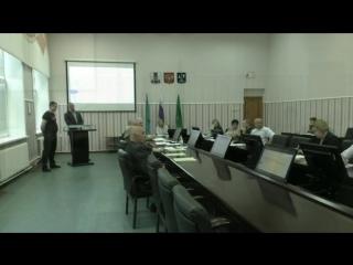Обсуждение вопроса закрытия отдела безопасности в Тымовской администрации, на собрании депутатов.