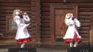 "Дуэт Бирюза, русская народная песня ""Молодая канарейка"""