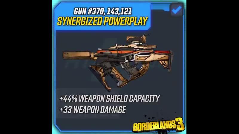 Borderlands 3 Gun Spotlight - Synergized Powerplay
