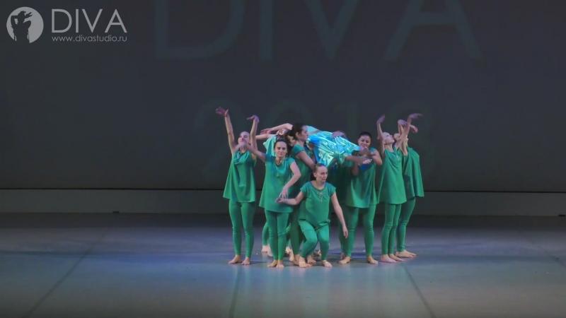 Контемпорари Contemporary dance номер Легенда об Изольде хореограф Ольга Завиялова