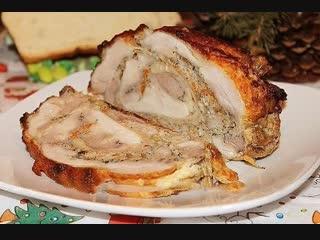 Зачем вам эта колбаса Приготовьте лучше рулетик мясной, такой ароматный и сочный!