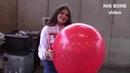 Lisa testet vier riesige Luftballons auf Flugfähigkeit und Stabilität - Nopop