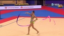Alina HARNASKO (AA) ribbon - World cup Sofia 2019