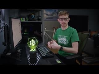 NVIDIA показала GeForce RTX .  первого в мире голографического игрового помощника.