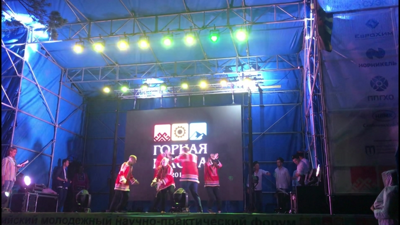 Танец команды МЕХ
