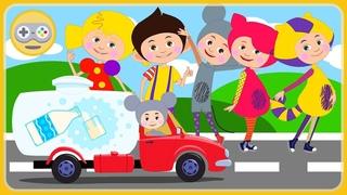 Кукутики игра про машинки для детеи - Дорожное Приключение