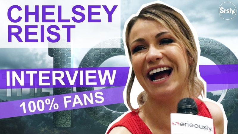 The 100 Interview 100% fans Chelsey Reist