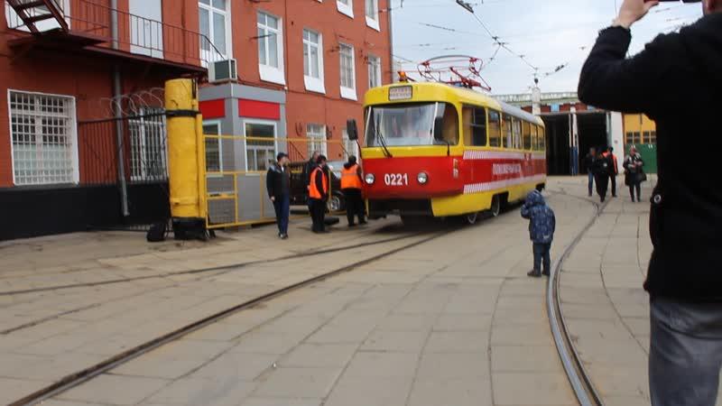 Парад трамваев 2019 конец
