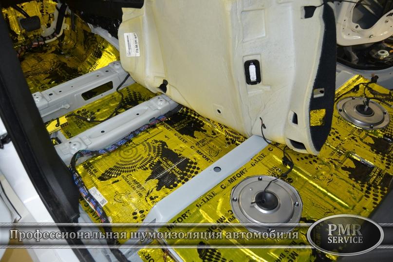 Шумоизоляция BMW X6 M, изображение №2