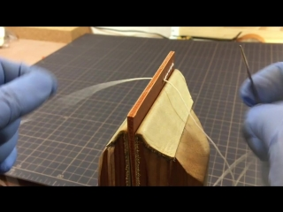 Hand Stitching Leather _ Part 5 _ Leather Craft _ Turn over _ Saddle Stitch