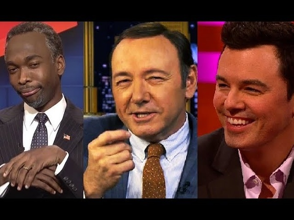 Celebrities Best Impressions Series 2 - Seth MacFarlane, Kevin Spacey, Jay Pharoe