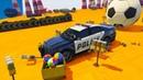 Мультики про Машинки для Мальчиков Мультфильмы про Гонки Крутые Тачки Полицейские Машины для Детей