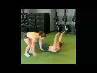 Burpees and riveting in pair