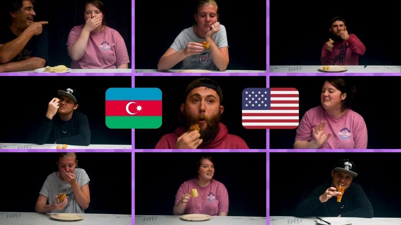 Amerikanlar Azərbaycan Şirniyyatı Yeyərsə | Azerbaycanda Ilk Sosial Eksperiment